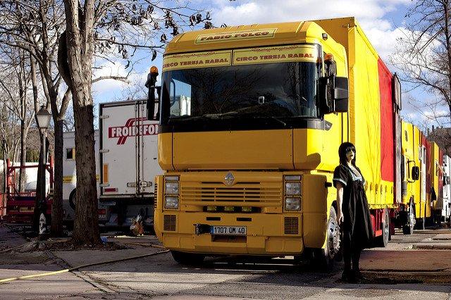 Перевозка груза из Испании
